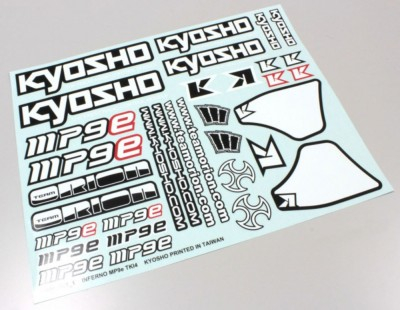 Kyosho Decal Sheet -...