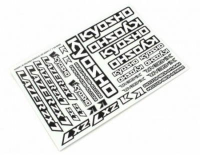 Kyosho Decal Set Lazer ZX7