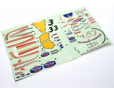 Kyosho Decal Sheet Honda...