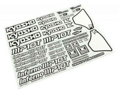 Kyosho Decal Sheet Inferno...