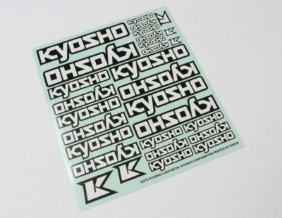 Kyosho Decal Sheet - Kyosho...