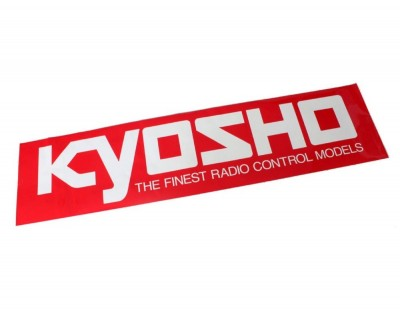 Kyosho Square Logo Sticker...
