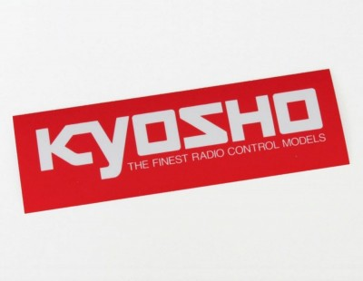 Kyosho Square Logo Stickers...