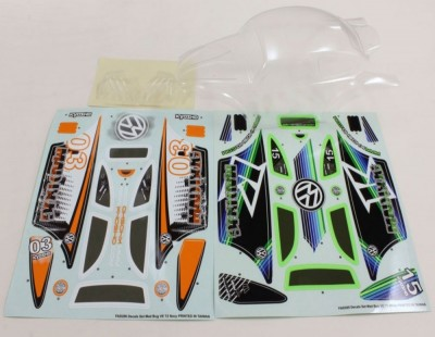 Kyosho Clear Body Shell Mad...