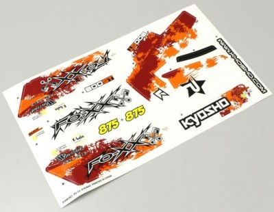 Kyosho Decal Sheet FO-XX GP