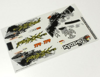 Kyosho Decal Sheet FO-XX VE