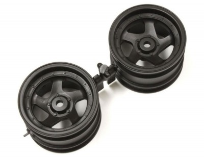 Kyosho Wheel 5B 43mm (2) Black