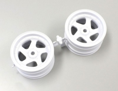 Kyosho Wheel 5B 43mm (2) White