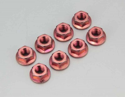 Kyosho M4x4.5mm Flanged Red...