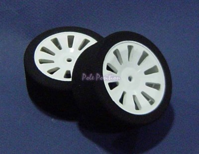 Set of 2 Foam Tires with 10...